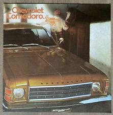 1975 Chevrolet Comodoro original Brazilian sales brochure