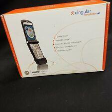 Motorola Razr V3 - Black (At&T) Cellular Phone