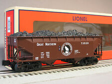 LIONEL GREAT NORTHERN SCALE OFFSET HOPPER train 6-27977 heavy weight car 6-27980