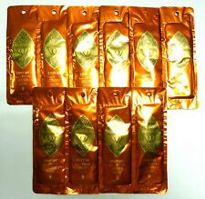 "MATAHARI ""ENVY MY GOLDEN GLOW"" LOTION - LOT OF 10 PACKETS - NEW - $70. VALUE!!!"