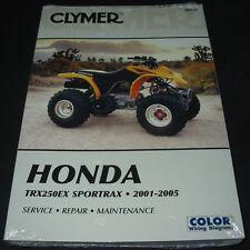 Repair Service Manual Honda Quad TRX 250 EX Sportrax 2001 - 2005 Maintenance!