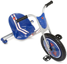 NEW! Razor Rip-Rider 360 Drifting Ride-On Tricycle Bike Trike Kid's Ride On BLUE
