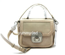 MIMCO TAYLOR MINI SATCHEL LEATHER BAG IN MILKYWAY BNWT RRP$379