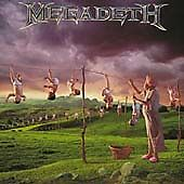 Megadeth - Youthanasia (CD, MISSING FRONT COVER, 2004)