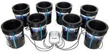 Root Spa 5 Gallon 8 Bucket System - hydroponics dwc deep water culture grow
