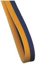 10x Medal Ribbon / Lanyards YELLOW + BLUE with Gold clip GREAT VALUE 22mm wide