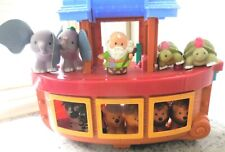 Fisher Price Little People Noah's Ark with NOAH & 10 ANIMALS