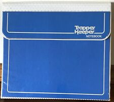 Vintage 1980's Mead Trapper Keeper Notebook- Blue W/Accessories- Unused