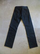 J.LINDEBERG Grey Blue Raw Slim Fit Logo Denim Jeans Pants 28x32 Made Romania