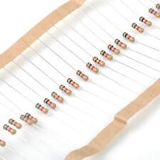 100 X Carbon Film 1K 1000 Ohm 1/4W 0.25W 5% Resistor for LED 24V