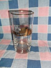 "ksm. Older Tumbler Glass Minnesota Auditorium and Convention Hall 5 5/8"" High"