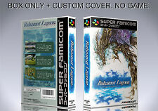 BAHAMUT LAGOON. JAP VERSION. Box. Super Nintendo. BOX + COVER PRINTED. (NO GAME)