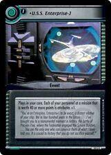 Star Trek CCG 2E What You Leave Behind U.S.S. Enterprise-J Archive FOIL 14A4