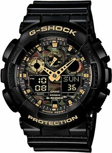 Casio G-Shock Watch Men's Camouflage Dial Series GA-100CF-1A9JF F/S Japan NEW