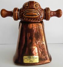 Vintage Famous Firsts Tiki Totem Bell Decanter Cloche de Saint Pol An Rem