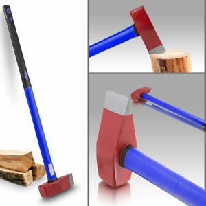 BITUXX Profi Spalthammer Spaltaxt Fiberglas Holzspalter Holzspalthammer