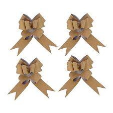 KRAFTZ® 30mm 10pc Glitter Butterfly Pull Bows Party Wedding Car Decor Gift Wrap