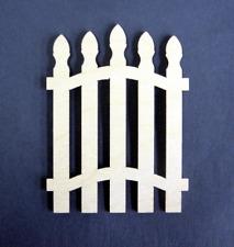 1:12 Scale Dollhouse Miniature Picket Gate