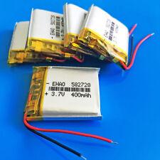 5 x 3.7V 400mAh Li Po Rechargeable Battery for Smart band Speaker MP3 MP4 582728