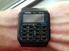 Casio Vintage CASE CENTER CA-50 BACK TO THE FUTURE WATCH USED UHR MONTRE 1988