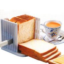Plastic Adjustable Bread Slicer Toast Loaf Sandwich Cutter Mold Kitchen Gadget