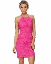 Bardot Lace Fushia 'Jen' Dress - Ladies Size 8. Brand New with Tags!