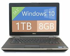 "Dell Laptop E6420 Win 10 i5 2.5Ghz 8GB RAM 1TB HD HDMI 14"" WIFI DVDRW WIFI"
