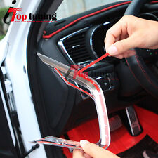Chrome Center Console Air Vent Lip Cover Moulding Trims for 11-15 Kia K5 Optima
