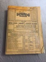 The Official Railway Equipment Register ORER April 1968