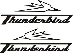 Triumph thunderbird 1600i vinyl stickers