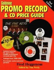 Goldmine Promo Record & Cd Price Guide Heggeness, Fred Paperback