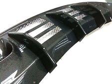 CARBON FIBER Spoiler Rear Diffuser for NISSAN Skyline GTR GT-R R35 LED Reflector