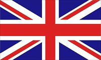 3x5 inch UNION JACK Flag Sticker - decal london uk britain british english love