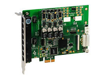 OpenVox A810E10 8 Port Analog PCI-E card base board + 1 FXS400 + 0 FXO400