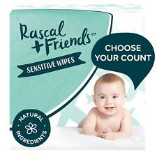 Rascal + Friends Sensitive Baby Wipes, 1296 Count