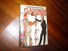 Flashman and the Redskins George MacDonald Fraser 1st HC/DJ