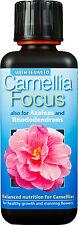 Camellia Focus Plant Food - 300ml - Nutrients for Ericaceous Plants, Azaleas