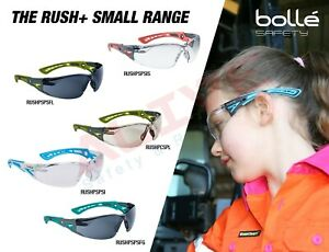 Bolle Kids Safety Glasses Rush+ Small Spectacles Narrow Children Eye Protection
