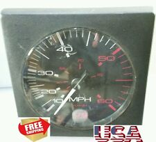 NEW Thomas G. Faria Co CS0262B 60 MPH SPEEDOMETER GAUGE US MARINE SHIPS FREE USA