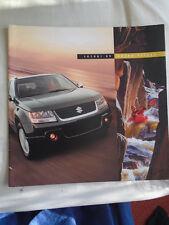 Suzuki Grand Vitara range brochure 2009 USA market large format