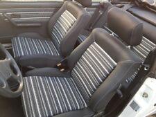 VW Golf 1 Cabrio Bezüge wie Original für Innenausstattung Sitze und Verkleidung