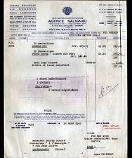 """COGNAC (16) ALCOOL / COGNAC VODKA GIN WHISKY PORTO """"Agence SALIGNAC"""" en 1965"""