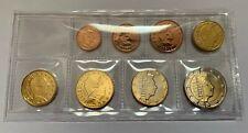 BU set Luxemburg 2019 in opbergstrip (1 Cent - 2 Euro) met muntteken Servaasbrug