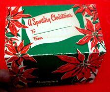 Orig Nos Vintage 1950s Remington Christmas .22 Short Rim Fire Box Gift Sleeve