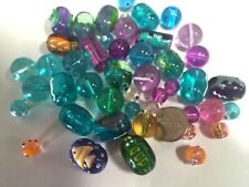 Fishes Turtle Glass Beads Frog Dolphin Sea Horse Nautical DIY Jewelry 20 pcs