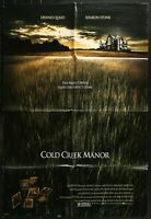 COLD CREEK MANOR Sharon Stone Dennis Quaid 2003 ONE SHEET MOVIE POSTER 27 x 40