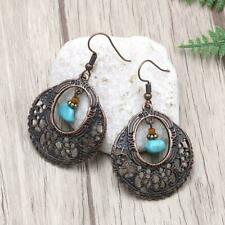 Vintage Women Turquoise Earring Boho Dangle Hook Earring Jewelry Gift