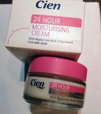 Cien 24H Moisturizing Cream Time Control Moisturizes the skin 50ml New