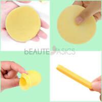 60 Pcs Compressed PVA Facial Sponges - Face Sponge for Makeup Removal (S0001x5)