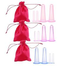 12x Cupping Massage Tool Vacuum Therapy Cup Anti-Cellulite+Bag for Body Face